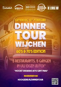 Driving Dinner Tour - 60s70s