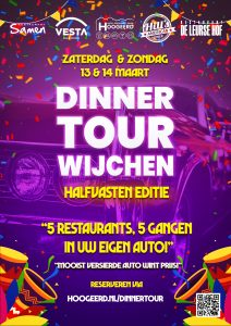Driving Dinner Tour - Halfvasten